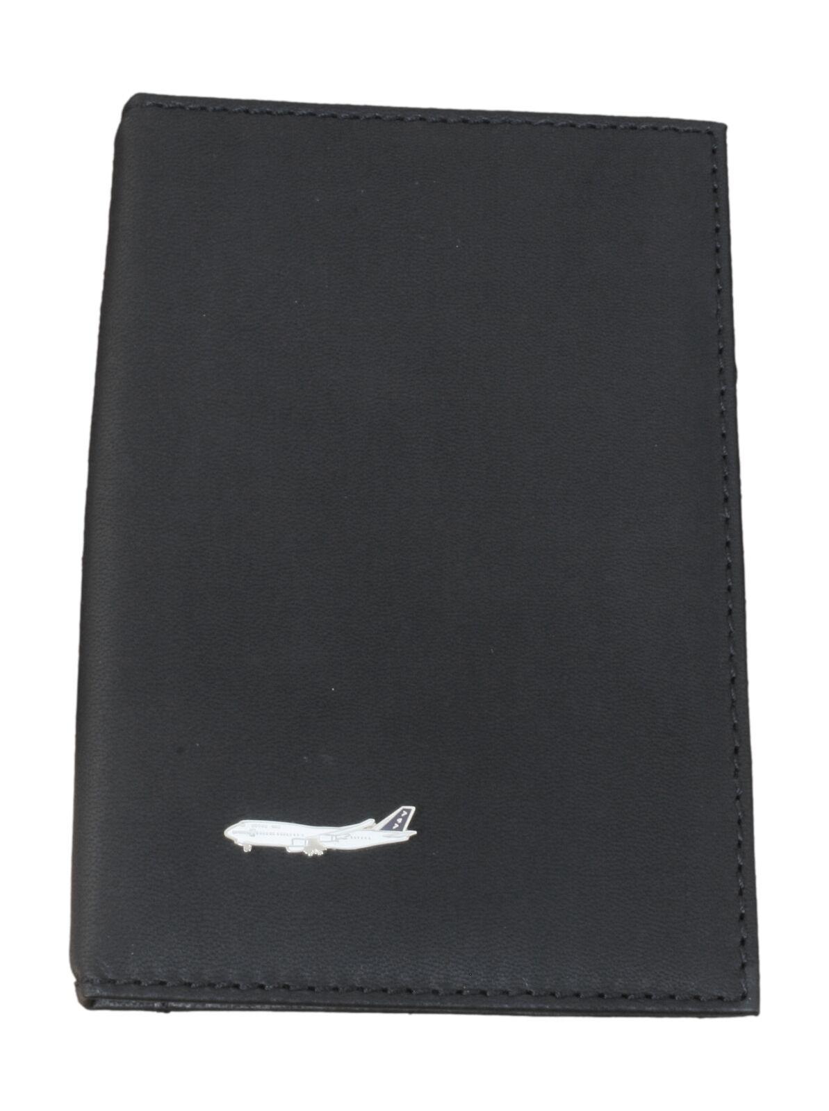 Boeing 747 Black Leather Shotgun/Firearms Certificate Holder 36