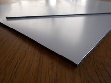 1 Aluverbundplatte DIN A4 Weiss 3mm/0,2 Aluminium Kunststoff Aluverbund Platte
