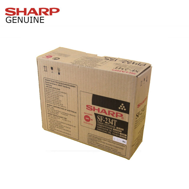 Genuine Sharp SF-234T Black Toner Cartridge SF234T for SF-2314 SF-2414 SF-2514