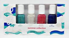 ESSIE Nail Lacquer - Mini SUMMER 2016- 4 colors x .16oz- 28676
