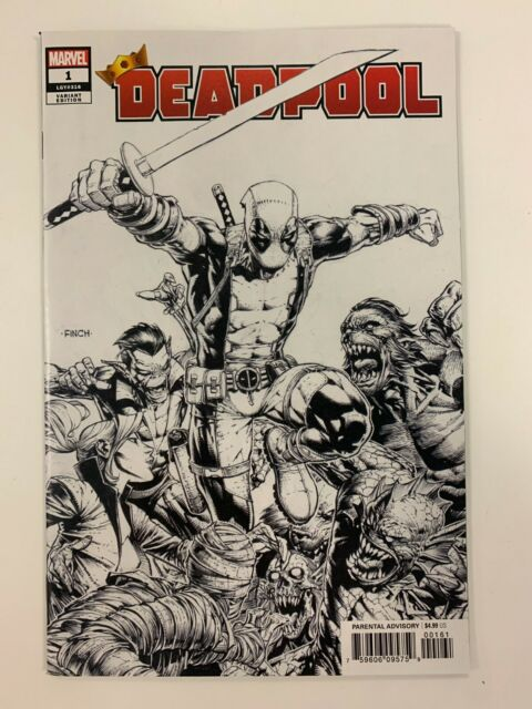 MARVEL DEADPOOL #1 : FINCH VARIANT COVER : NM CONDITION