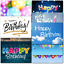 thumbnail 5 - Doodlecards Pack of 10 Standard Size Contempory Mixed Birthday Cards