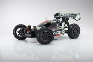 Kyosho-Buggy-thermique-rc-inferno-neo-3-0-rouge-1-8-Moteur-3-5-cc-NEUF