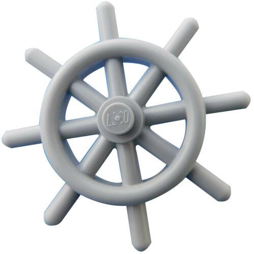 Lego Steuerrad in hellgrau light bluish gray Lenkrad 4790b Schiff Boot Neu