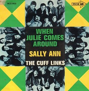 CUFF-LINKS-THE-When-Julie-Comes-Around-1969-VINYL-SINGLE-7-034-GERMANY