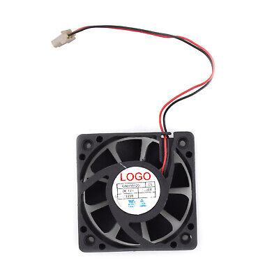 5CM NONOISE Car Audio Cooling Fan 2//3//4 Wires Cooler G5015M12D1+6 12V 0.2A Black