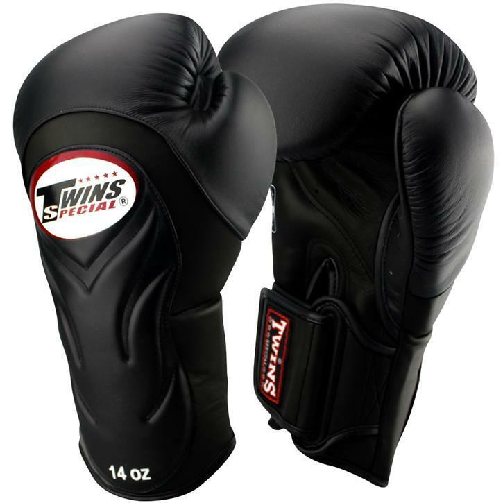 TWINS Boxhandschuhe, Premium, BGVL-6, schwarz-schwarz