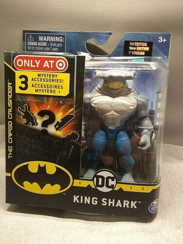DC KING SHARK figurine Target Exclusive 1st édition 3 mystère Accessoires