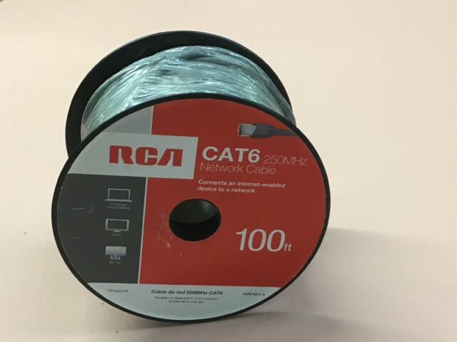 TPH633R RCA 50-Feet Cat6 Network Cable
