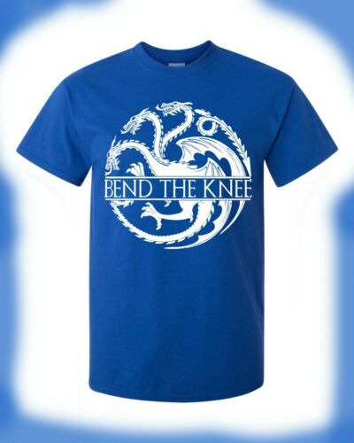 Game of Thrones T-Shirt House Targaryen Bend The Knee Daenerys Mother Of Dragons