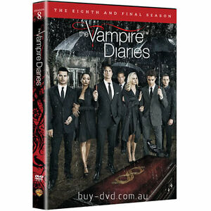The-Vampire-Diaries-Season-8-New-amp-Sealed-Region-2-DVD-Boxset