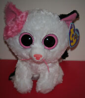 Ty Beanie Boos Muffin The 6 Cat (purple Tag) Mint With Mint Tags Rare