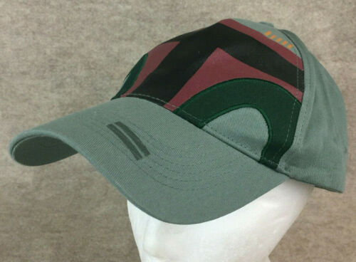Disney Parks Star Wars Boba Fett Adjustable Hat Ca