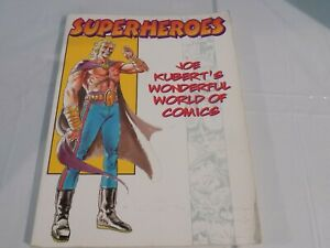 Joe Kubert/'s World of Cartooning Hardcover Heroes /& Superheroes Excellent 1998