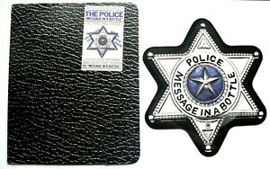 EX-EX-THE-POLICE-MESSAGE-IN-A-BOTTLE-Shaped-Vinyl-Picture-Pic-Disc-WALLET