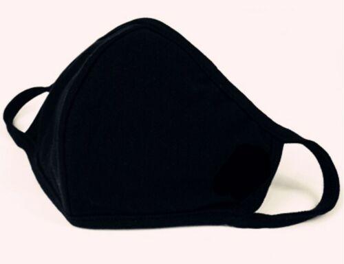 20 Cotton Black Washable Elaborate Production Unisex Máscara Mascher Маски Maask