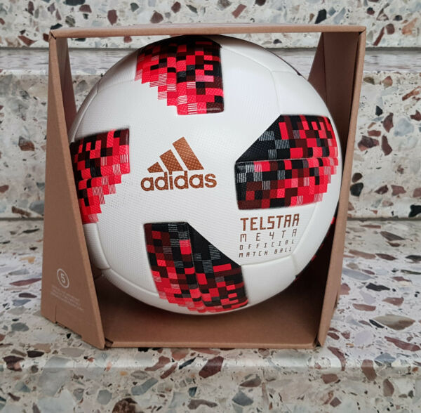 Adidas Match Ball Meyta Telstar Fifa World Cup Russia 2018 Palloncino Football Soccer Ball Buon Sapore