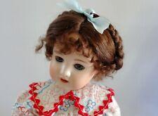 BABY LAUREN Mohair WIG Honey Blond size 6-7 for Bleuette//baby//toddler//boy DOLLS