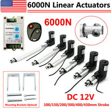 Linear Actuator 6000n1320lbs 12v Dc Electric Motor Auto Window Lift Sofa Bed Ig