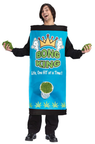 Bong King Adults Comical Full Body Wrap Funny Costume Halloween Funworld