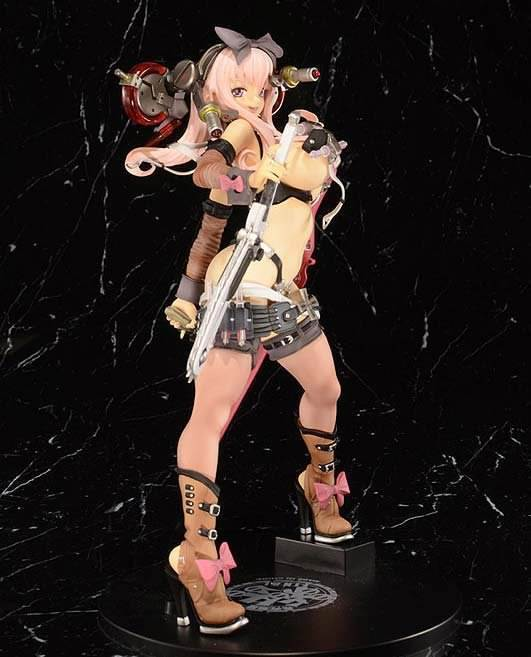 Hyper Nurse Commander  Milky Way Hotaru Pink Version 1 6 PVC Figure
