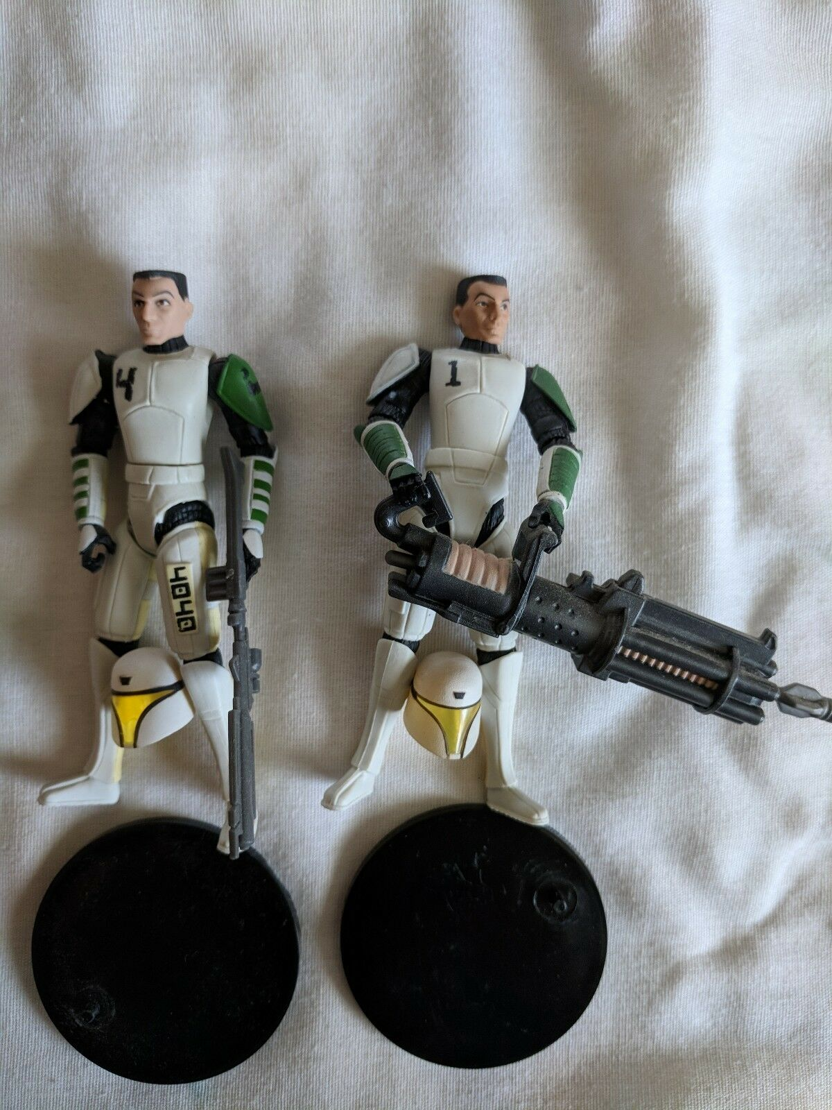 Hasbro star wars klonkriegen klon kadett schwer & schneiden