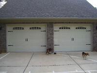 Deluxe Garage Door Decorative Hardware Kit - Hinges & Handles - Double Kit