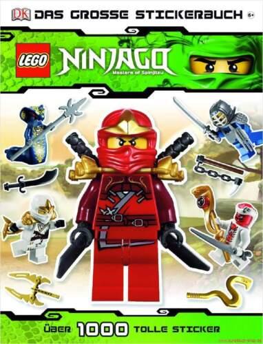 NEUF Manuel LEGO ® Ninjago ™ grand Stickerbuch à partir de 6 ans plus de 1.000 Stickers
