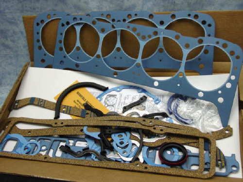 350 Chevy FelPro Perma Torque Blue complete gasket set fits all thru 1986