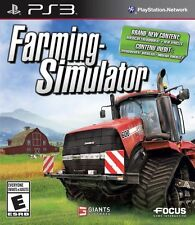 Farming Simulator (Sony PlayStation 3, 2013) PS3 Complete - Works Great