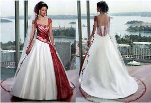 2018 Neu Brautkleid Hochzeitskleid Gr 32 34 36 38 40 42 44 46 48 50