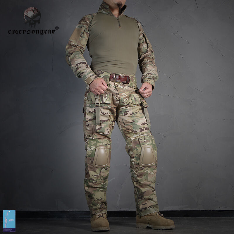 EMERSON Tactical Uniform Combat BDU Airsoft Military Hunting Army CP MultiCam