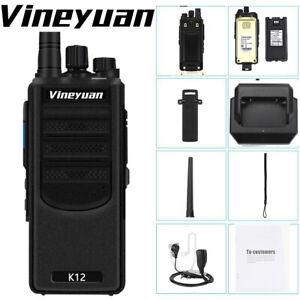 Vineyuan-K12-12W-Long-Range-6800mAh-Walkie-Talkie-UHF-400-470-Mhz-Two-Way-Radio