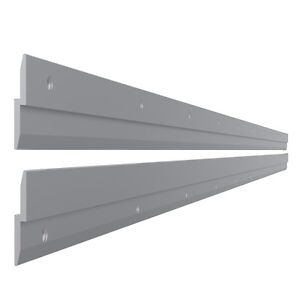 2 X 600 Mm Lamellenwand Einhangeprofil Wandschiene Regal Schrank