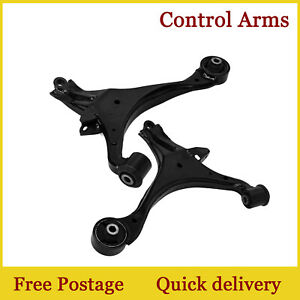 For-2001-2002-2003-2004-2005-Acura-El-Honda-Civic-Front-Lower-Control-Arm-Pair