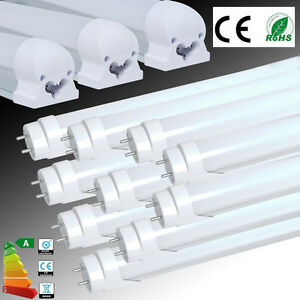 UK-1-4-10x-T5-T8-G13-1ft-2ft-4ft-LED-SMD-Tube-Light-Fluorescent-Lamp-Replacement
