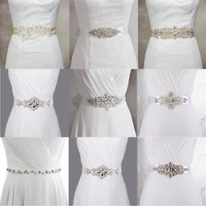 White ivory bridal sash belt wedding dress accessory for Ivory wedding dress sash