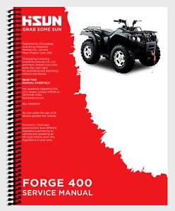 Hisun HS Forge ATV Coleman Trail Tammer 360 400 ATV Printed Service Manual Book