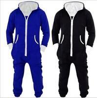 Hot Blue/black Adult Unisex Onesies Costume Onesie Kigurumi Pajamas Sleepwear