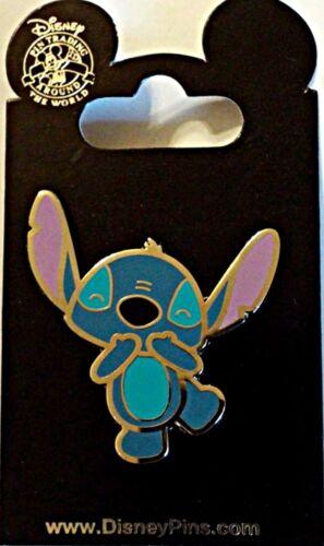 Cute Stitch Disney Parks 2 Pin Lot STITCH Experiment of Cuteness ANGEL
