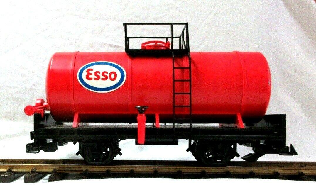 LGB 4040 Esso Rojo Tanque Coche amarillo BOX RARE