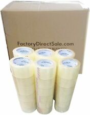 36 Rolls Full Box 2 60 Yards 180ft 27mil Sealing Clear Packing Shipping Tape