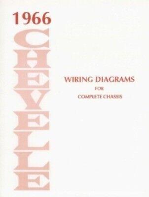 CHEVELLE    1966 Wiring    Diagram    66   eBay