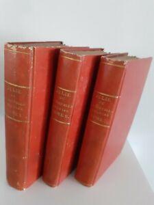 Julie J.J.Rousseau TOME1-2-3 Ledoux Parigi 4 Stampe/2 Frontespizi 1819