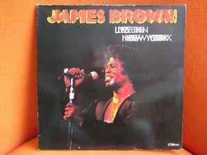 VINYL 2 X 33T – JAMES BROWN : LIVE IN NEW YORK – SOUL FUNK – 1981