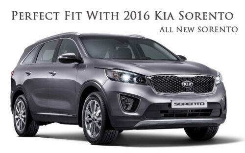Front Rear 3D K Logo Emblem 2p For 2016 2018 Kia Sorento USA /& Canada Only
