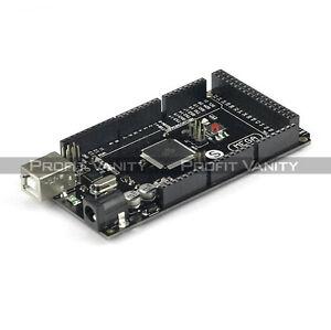 New-SainSmart-Mega-2560-R3-ATmega2560-16AU-ATMEGA16U2-USB-Cabe-For-Arduino