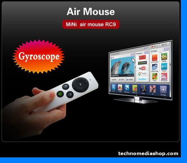 gm Air Mouse giroscopio wireless Measy Usb 2.4 mini pc tv Android Windows Linux