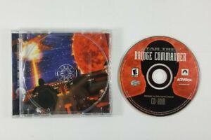 Star-Trek-Bridge-Commander-2002-Disc-Case-Back-Art-No-Manual-PC-Game-CD-ROM