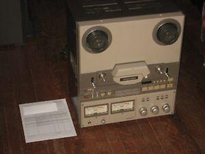 Tascam-42-NB-Pro-Serviced-Open-Reel-1-4-034-Half-Track-Mastering-Tape-Recorder-TEAC